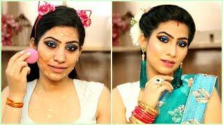 New Brides घर पर मेकअप कैसे करें - Step by Step Makeup Tutorial for Beginners | Anaysa