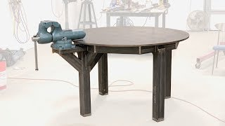 Building a table to hold my vise