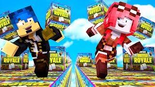 Minecraft ITA - LA GARA DEI LUCKYBLOCK DI FORTNITE