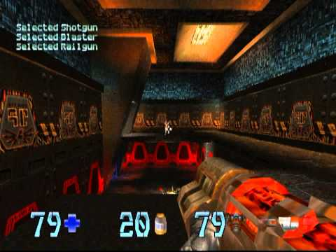 Quake II (PSX) - Walkthrough (Hard difficulty and all secrets)