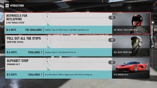 Forza Motorsport 7 - November #Forzathon Events #2 (November 9 - November 16)