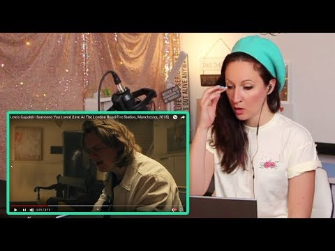 Download Lagu  Vocal Coach REACTS to LEWIS CAPALDI- SOMEONE YOU LOVE -Live! Mp3 Free