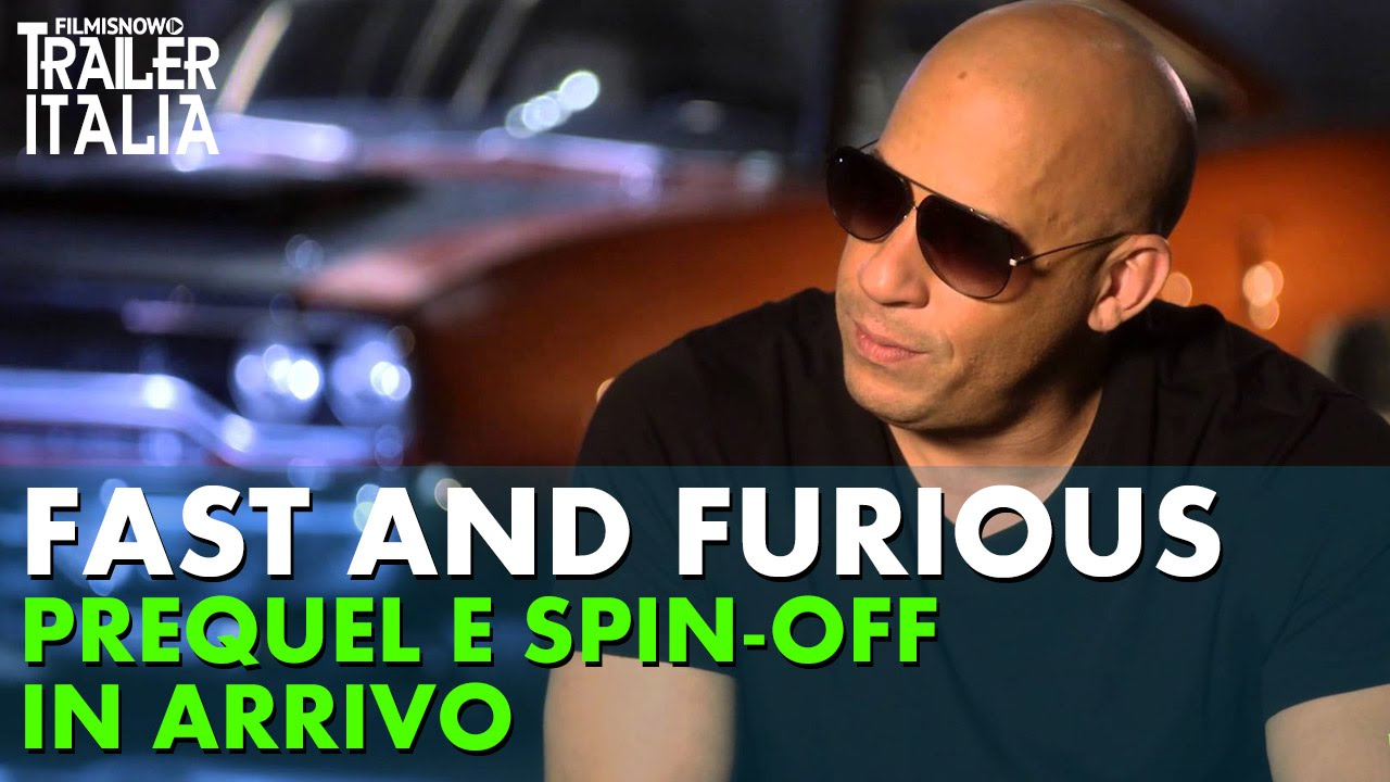 FAST AND FURIOUS: Prequel e Spin-off in arrivo [HD]