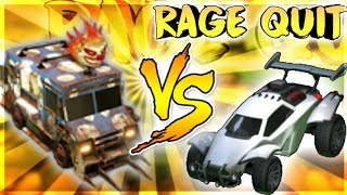 9 YEAR OLD RAGE QUITS BECAUSE HE LOST SWEET TOOTH VS OCTANE ON ROCKET LEAGUE!!