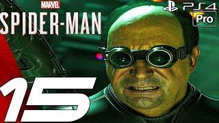 SPIDER-MAN PS4 - Gameplay Walkthrough Part 15 - Martin Li Boss Fight (PS4 PRO)