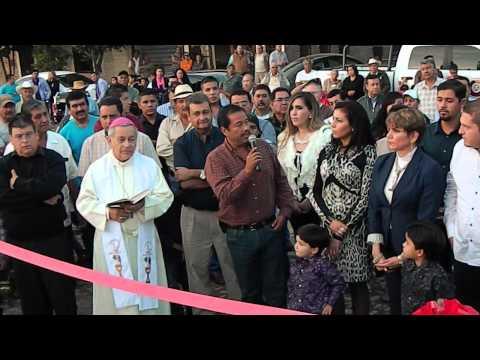 Inauguran Plaza Principal de Gral. Andrés Figueroa