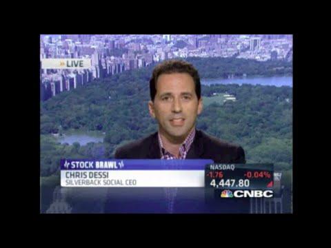 CEO Chris Dessi on CNBC's Closing Bell - Bullish on Twitter