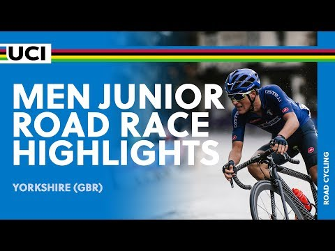 Men Junior Road Race Highlights | 2019 UCI Road World Championships