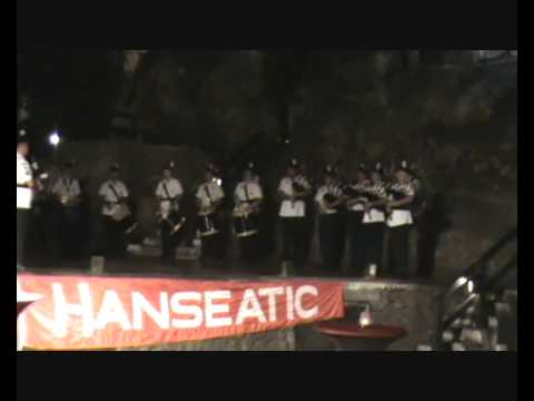T&J Productions | Gibraltar Sea Scouts Pipe Band - Show at St. Michael's Cave, Gibraltar