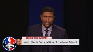 Jalen Rose says Steph Curry is the King of the New School NBA | NBA Countdown | ESPN