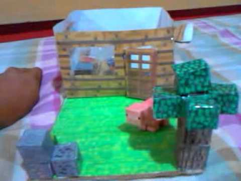 Minecraft Papercraft House