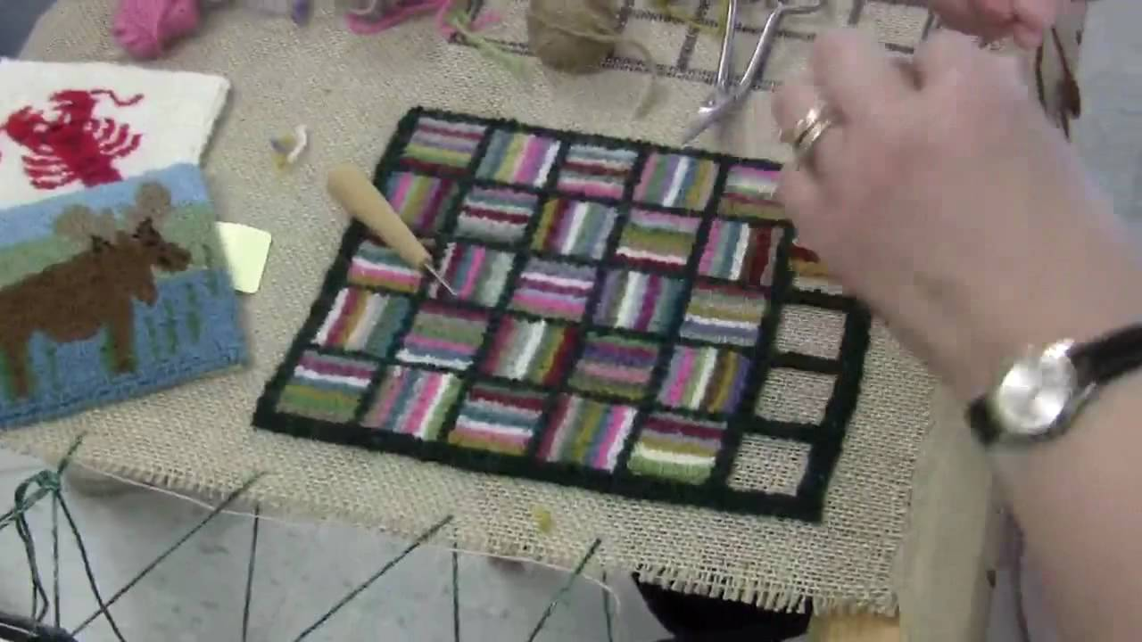 Cheticamp Rug Hooking Frame Cheticamp Hooked Rugs Cape