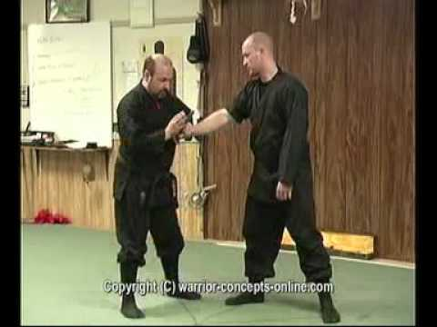 Ninjutsu Knife-Defense Technique - Break His Damned Hand! Image 1