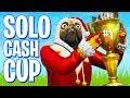 Solo Cash Cup Tournament! (Fortnite Battle Royale)
