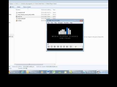 Como ver cualquier tipo de video con Media Player Classic