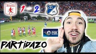 MILLONARIOS vs AMERICA (2-1) TORNEO FOX - Resumen Desde la TRIBUNA