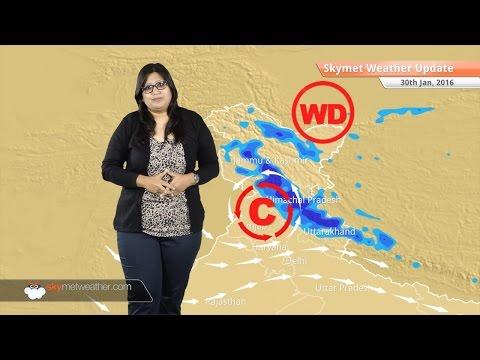 Weather Forecast for January 30: Snow in Jammu Kashmir, light rain over Punjab, Haryana