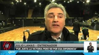 Liga Nacional de Basquet - San Lorenzo 77-57 Ferro