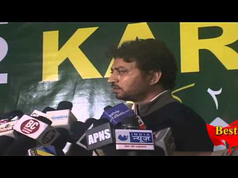 Irrfan Khan On Muhurat Of Movie Welcome To Karachi