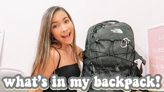 WHAT'S IN MY BACKPACK 2019 || FRESHMAN