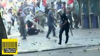 Turkish police shoots and kills a protester - Truthloader