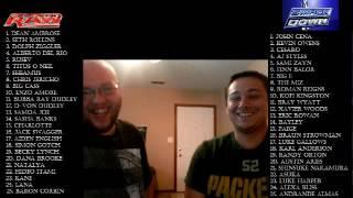 WWE Mock draft 2016 with Plummy & Nateschke