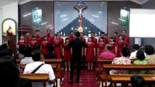 Christmas Potpourri - Veva's Choir - January 27th 2015