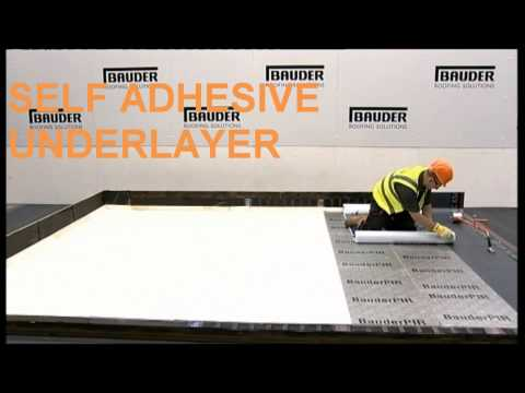 Self Adhesive Bitumen Membrane Flat Roof Installation