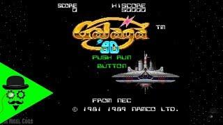 A Retro Evening With Galaga | Classic TurboGrafx 16 Arcade Game
