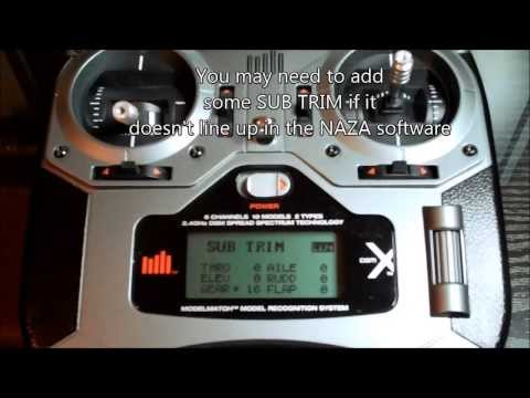 DX6i + Naza-M lite + OrangeRX R620 setup for all 3 modes inc failsafe