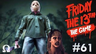 JASON IS AFRAID OF *ONE* THING! | Friday the 13th The Game #61 With Friends!