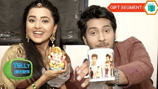 Exclusive: Tejaswi And Namish Taneja Receive Gifts From Fans | Gift Segment