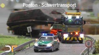 Ponton-Transport und anschließendem wassern | RC 1:87