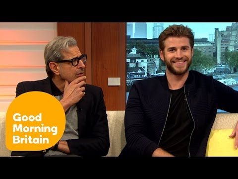 Liam Hemsworth And Jeff Goldblum Have A Laugh With Piers And Susanna | Good Morning Britain