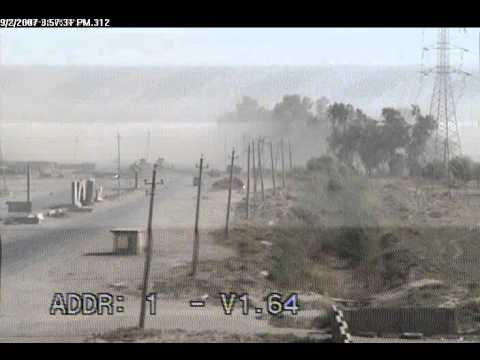 Explosion form car bomb (about 1min in) Iraq.