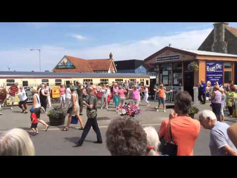 Flash Mob Minehead railway station