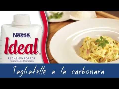 Tagliatelle a la carbonara - Recetas rápidas Nestlé