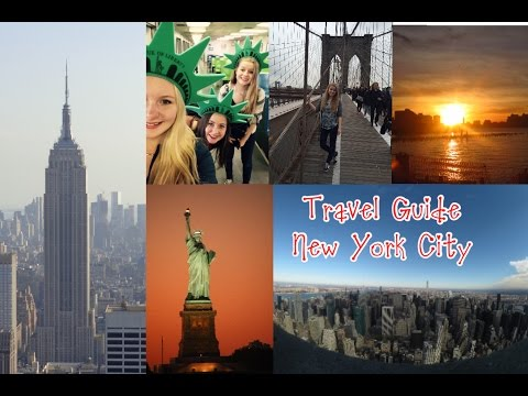 MY TRAVEL GUIDE TO NEW YORK CITY #1