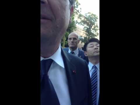 François Hollande à Tokyo