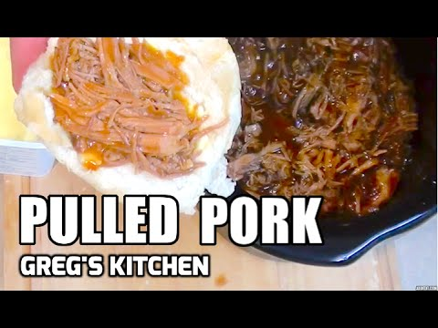 HOW TO MAKE BBQ PULLED PORK - Greg's Kitchen