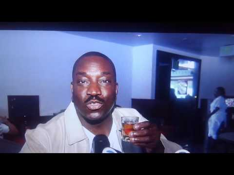 Clippers vs Grizzles game 7 Top Clipper fans at LA Live Clipper Darrell and Actor Clifton Powell