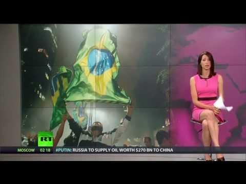 Brazilian Million Man Protest   Brainwash Update