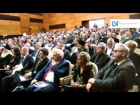 Participare la decernarea titlului Doctor Honoris Causa domnului Jose Manuel Barroso