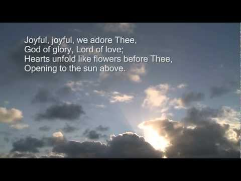 Hymnal - Joyful Joyful We Adore Thee