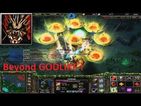 DotA 6.83d - Obsidian Destroyer Beyond GODLIKE !