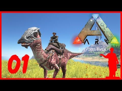 ARK: Survival Evolved [01] Кооп: Как Приручить Динозавра!