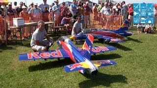 RED BULL TEAM 2X MB-339 RC TURBINE JET FORMATION FLIGHT SEBASTIAN & ROBERT FUCHS