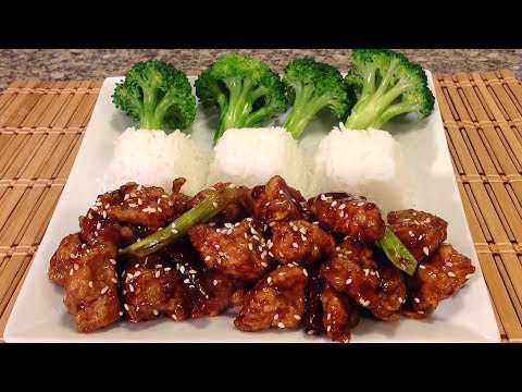 How To Make General Tso's Chicken-Chinese Food Recipes-Restaurant Style