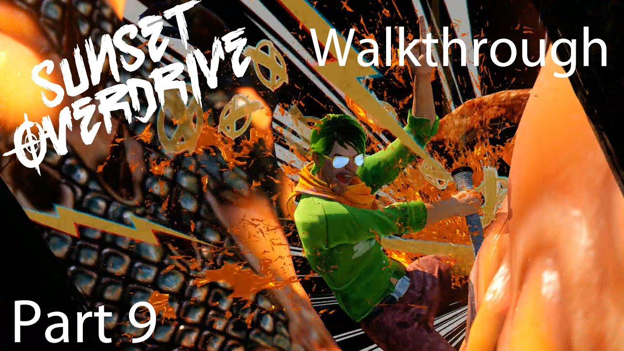 sunset overdrive walkthrough part - photo #29