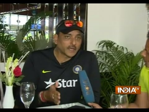 Ravi Shastri Speaks Exclusively with India TV on Dhoni controversy   India Tv